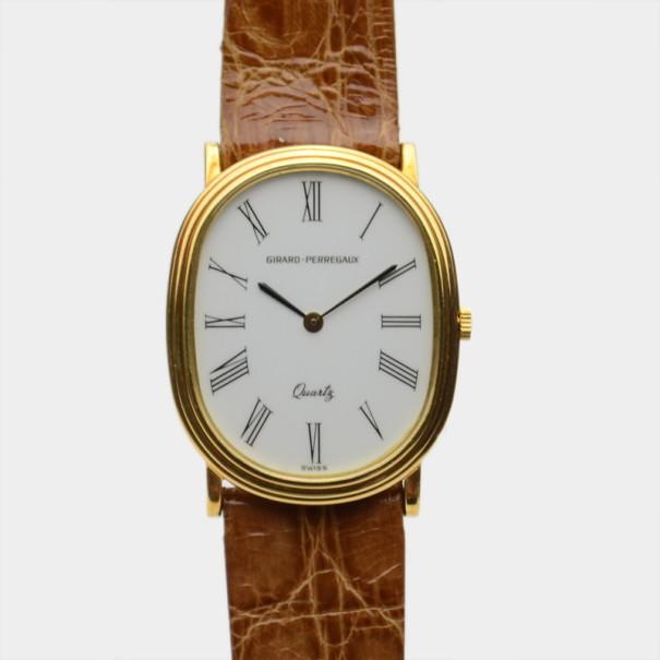 Girard Perregaux Classic Yellow Gold SS Womens Wristwatch 26 MM