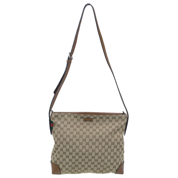 c288b2843fda Buy Gucci Original GG Canvas Large Messenger Bag 9372 at best price ...
