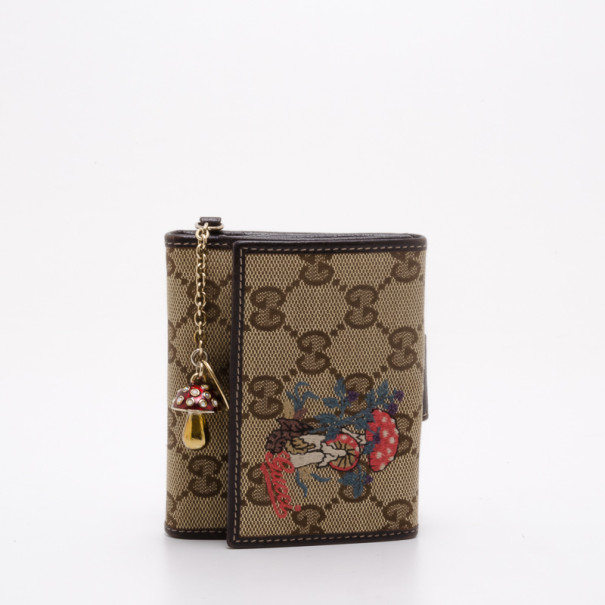 dd146ad7e2bd Buy Gucci Monogram Mushroom Wallet 37781 at best price | TLC