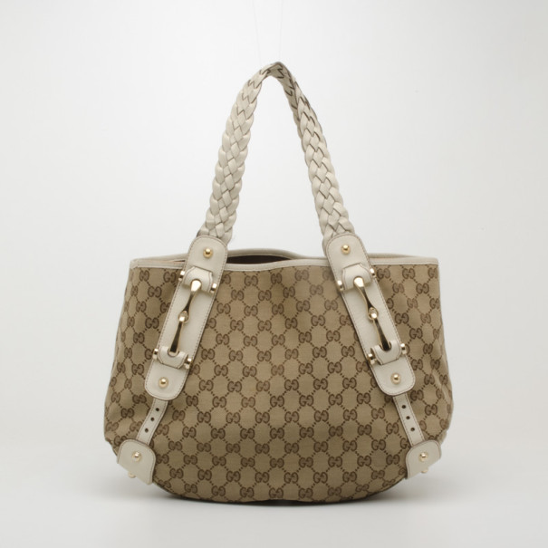 57a01507e00 Gucci Monogram Pelham Handbag - Handbag Photos Eleventyone.Org