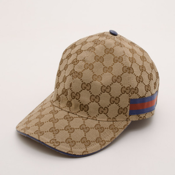 Buy Gucci Brown Monogram GG Baseball Cap 37242 at best price  e424a6d803e