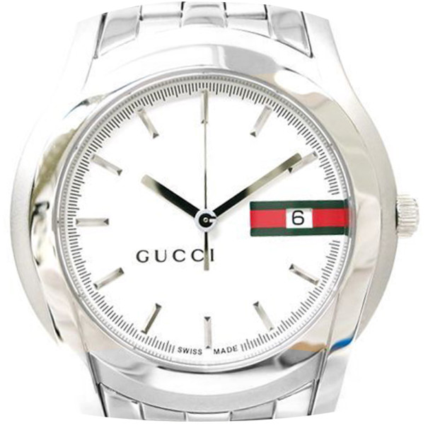 99762f9a1b8 Buy Gucci Wristwatch SS White Mens 5500XL 36587 at best price