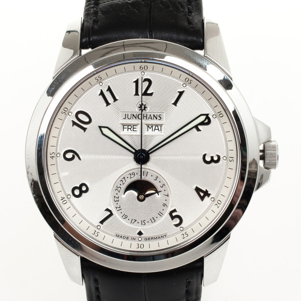 Junghans MoonPhase Mens Wristwatch 42 MM