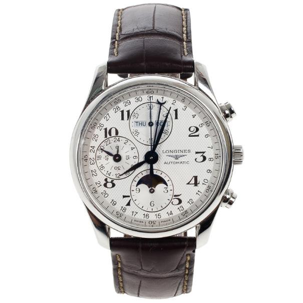d67641f6291 ... Longines Master Collection Moonphase Chronograph Mens Wristwatch 40 MM.  nextprev. prevnext