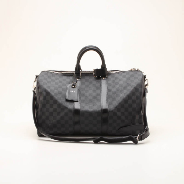 Buy Louis Vuitton Keepall 45 Damier Graphite 36255 at best price  501f462ef91ea