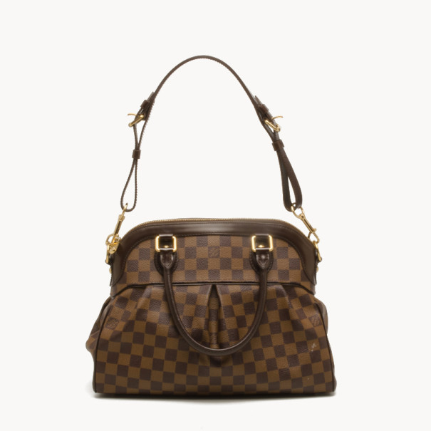 6d655f4701 Buy Louis Vuitton Trevi PM Damier Ebene Handbag 38177 at best price ...