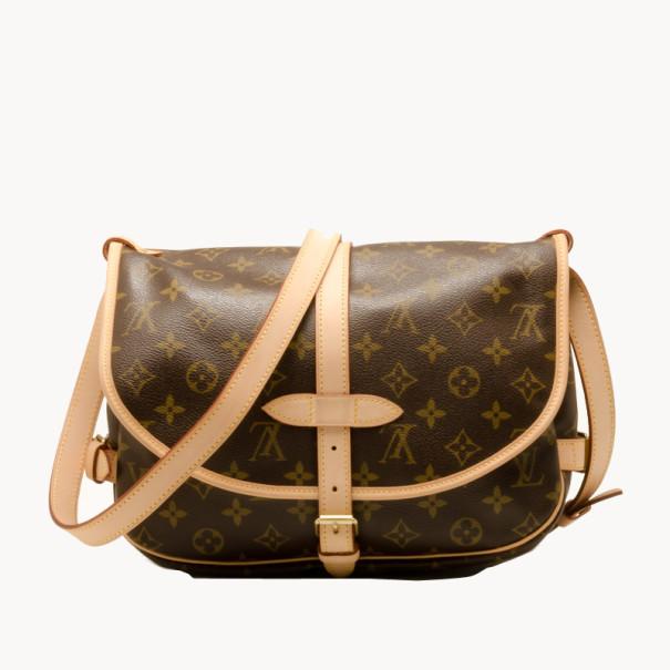 2f8db8ea6fd0 Buy Louis Vuitton Saumur 30 Messenger Bag 38198 at best price