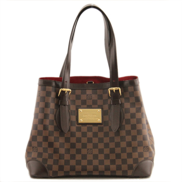 e6e2dfc2af38 Buy Louis Vuitton Hampstead MM Damier Ebene Tote 38338 at best price ...