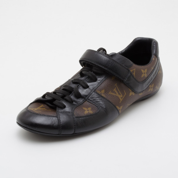445e3017072 Louis Vuitton Monogram Globe Trotter Sneakers Size 42