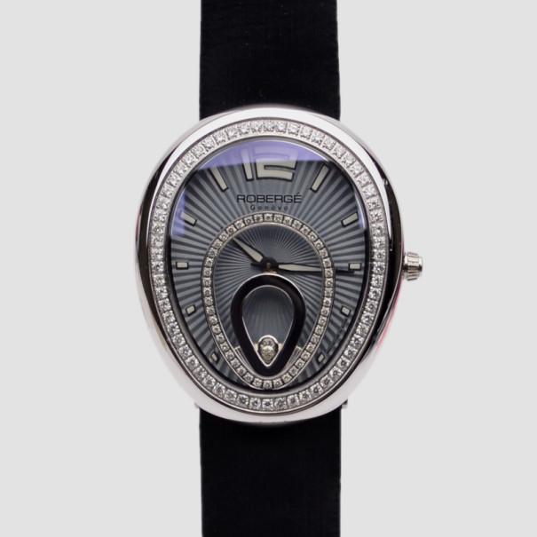 Robergé Vela SS Diamond Womens Wristwatch 40 MM