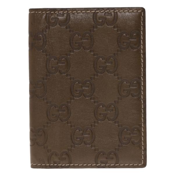 b984922ba1c3 Buy Gucci Brown Monogram Card Holder 2945 at best price | TLC