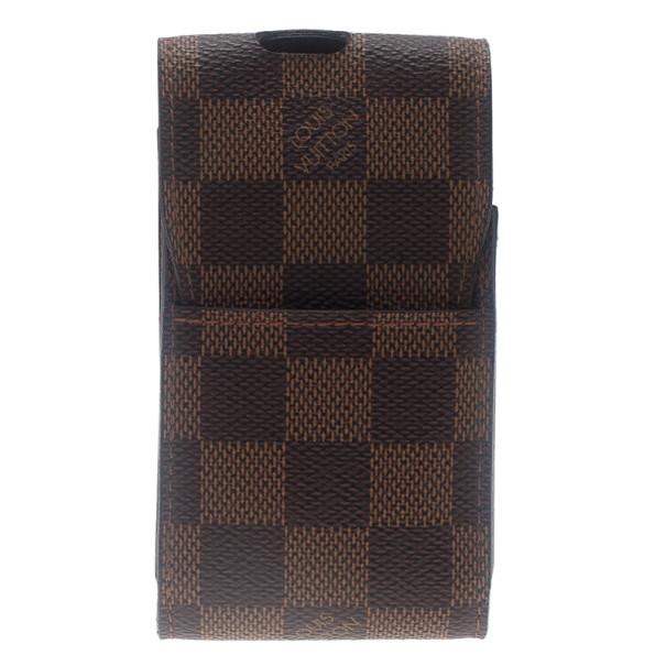 bee609b7d0 Louis Vuitton Damier Ebene Canvas Cigarette Case