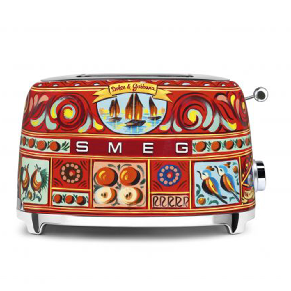 Smeg x Dolce & Gabbana 2 Slice Toaster, Multicolour (Available for UAE Customers Only)