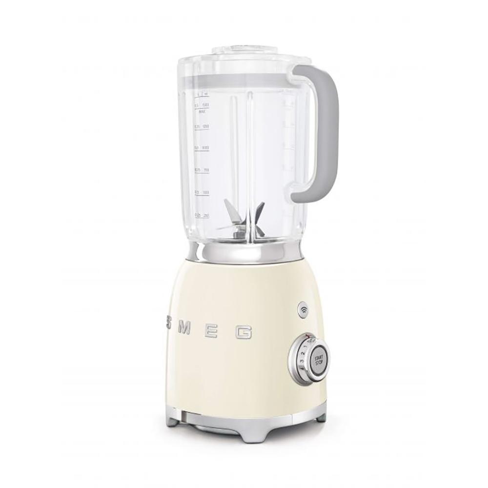 Smeg 50's Retro Style Aesthetic 1.5 Liter Blender, Cream (Available for UAE Customers Only)
