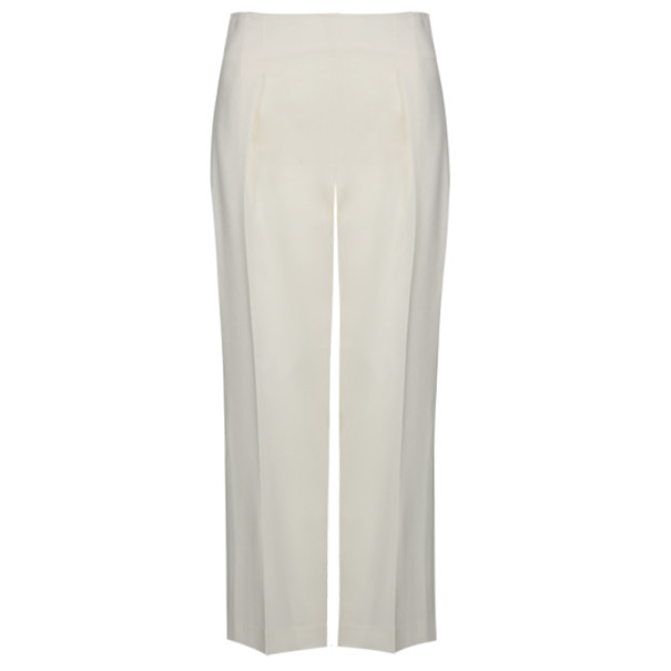 3.1 Phillip Lim Ivory Wide-Leg Trousers M