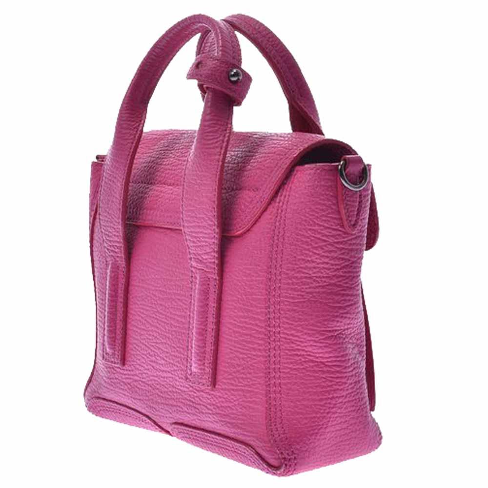 3.1 Phillip Lim Pink Leather Pashli Mini Satchel Bag