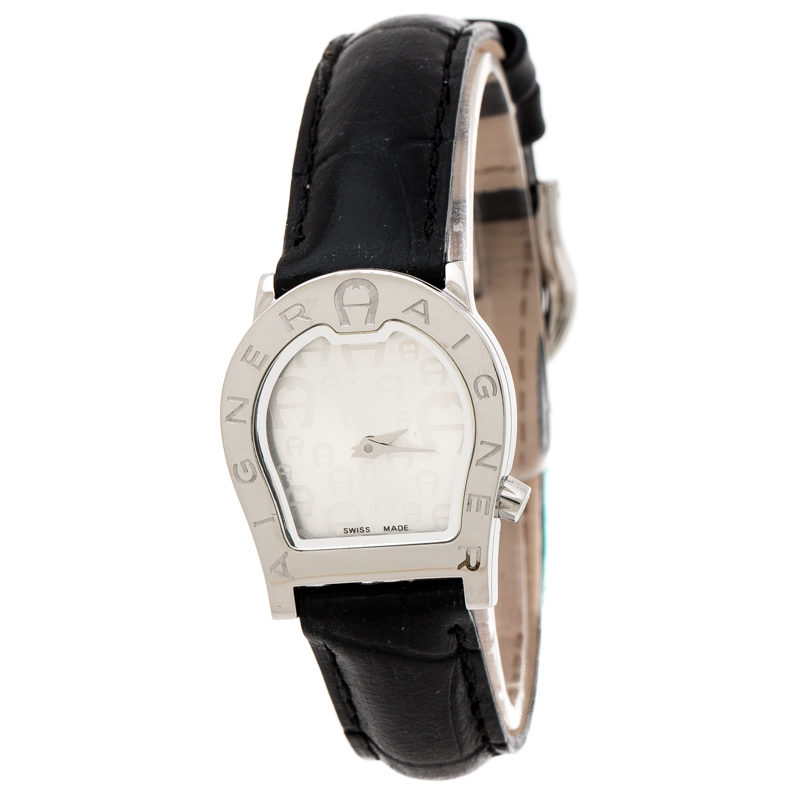 great deals pretty cool unique design Aigner Silver Stainless Steel Verona Nuovo A22200 Women's Wristwatch 24 mm