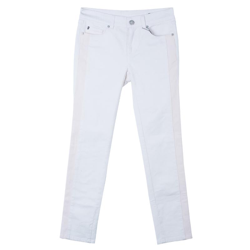 Alexander McQueen Light Pink Denim Jeans S