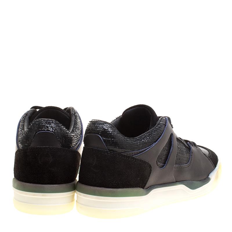 Buy Alexander McQueen Tessu Rose Petal Platform Sneakers