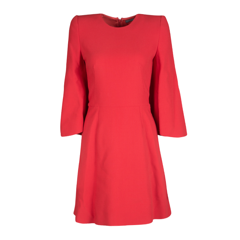 84e7224c83c1 ... Alexander McQueen Red Knit Kimono Sleeve Dress S. nextprev. prevnext