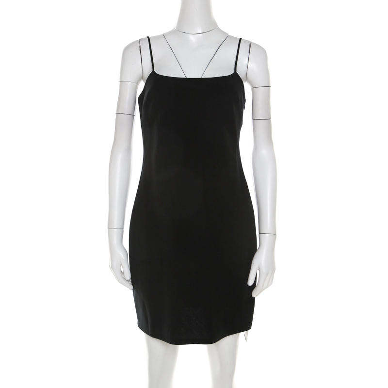 9d36700e8 T by Alexander Wang Black Wool Mini Dress S