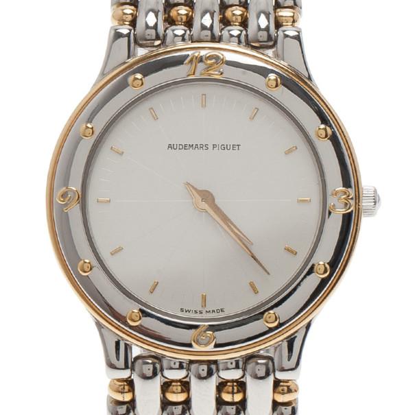 b5f4af060 ... ساعة يد نسائية أوديمار بيغيه كلاسيكية فولاذ المقاوم للصدأ بيضاء 32 MM.  nextprev. prevnext