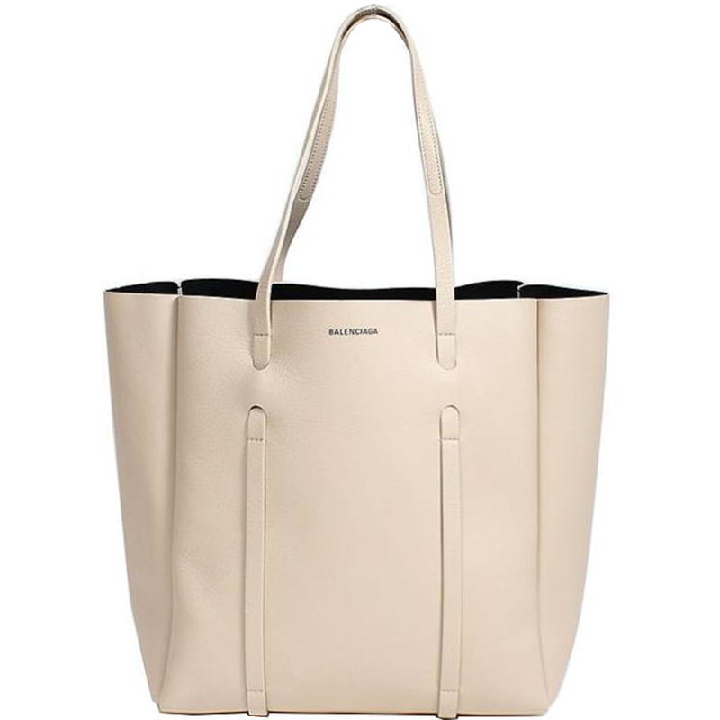 plus récent cd82b 850c9 Balenciaga Beige Calfskin Leather Small Everyday Tote