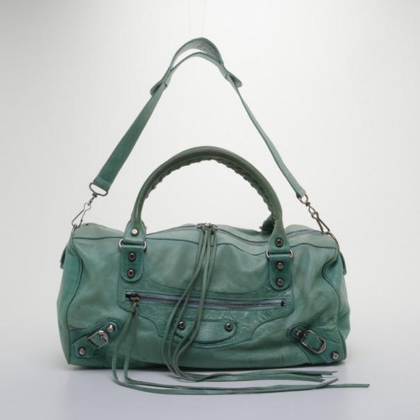 Balenciaga Light Green Classic Twiggy