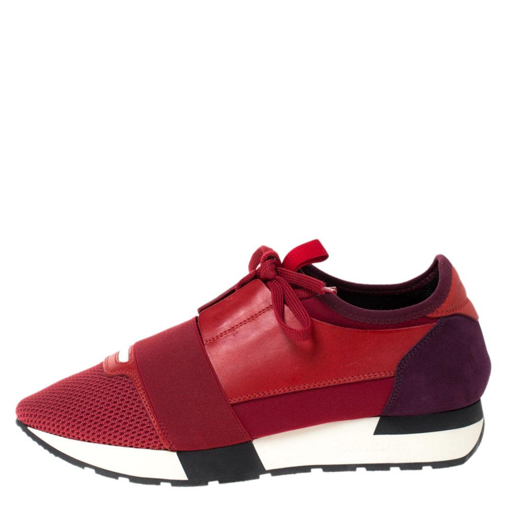 Suede Race Runners Sneakers