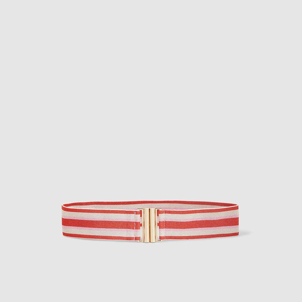 "حزام باوم أوند فيردغردن ""لوانا"" مخطط مرن أحمر صغير (سمول)/ وسط (ميديوم)"