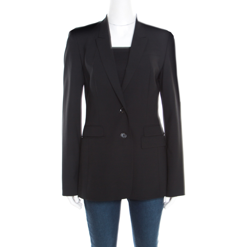5741729ed Buy Boss By Hugo Boss Black Two Button Tailored Blazer M 184492 at ...