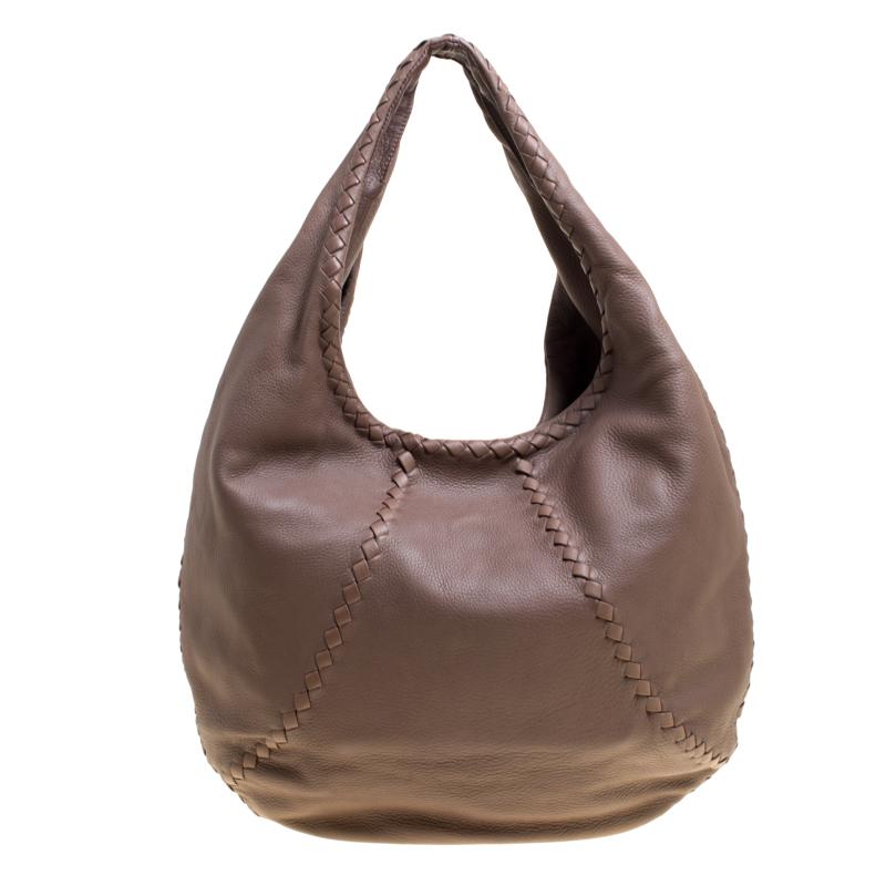 ... Bottega Veneta Dark Beige Cervo Leather Hobo. nextprev. prevnext ceb35e3974dde