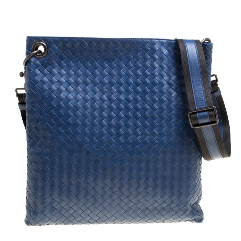 ... Bottega Veneta Blue Intrecciato Leather Crossbody Bag. nextprev.  prevnext 11d3087f1c00a