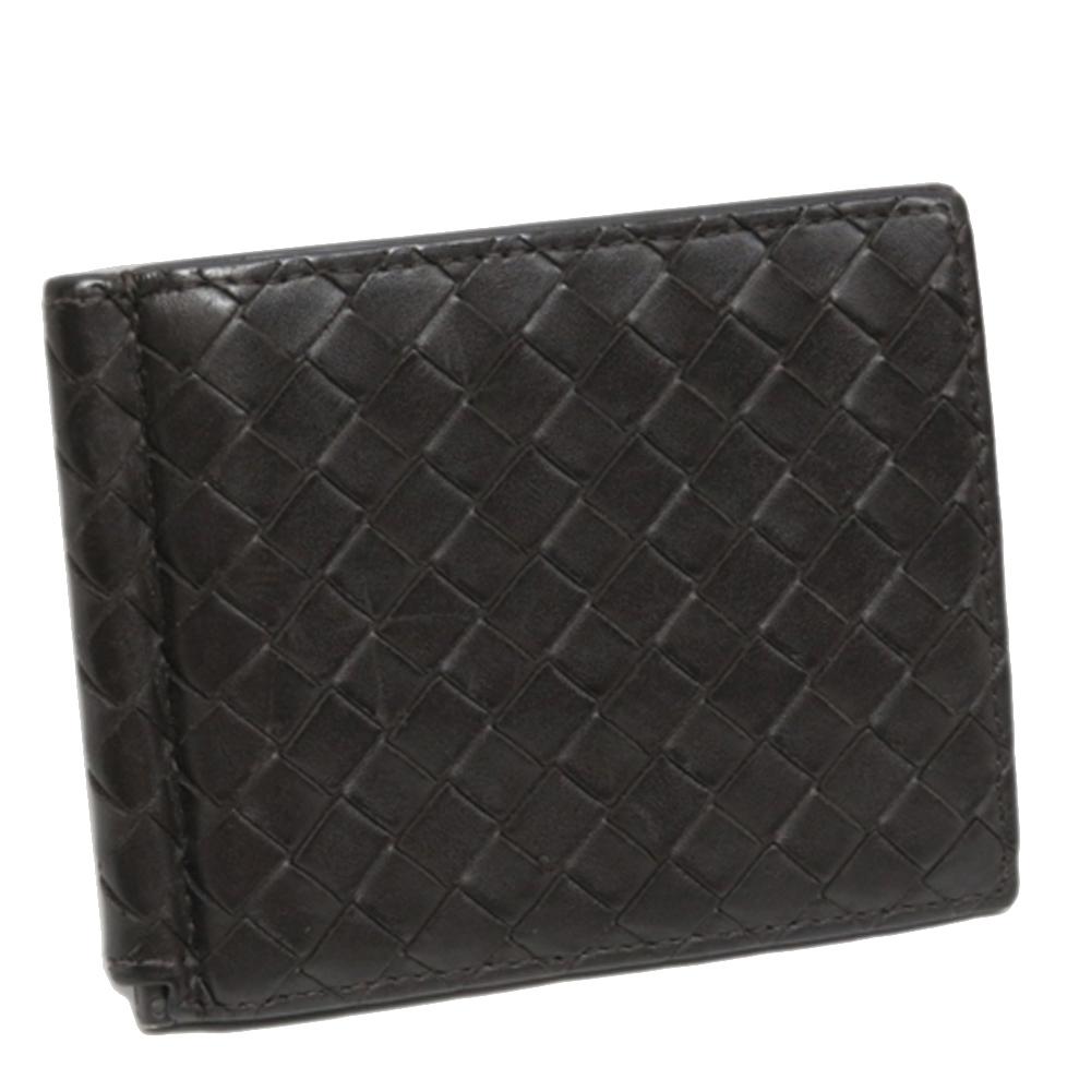 Pre-owned Bottega Veneta Black Leather Wallets