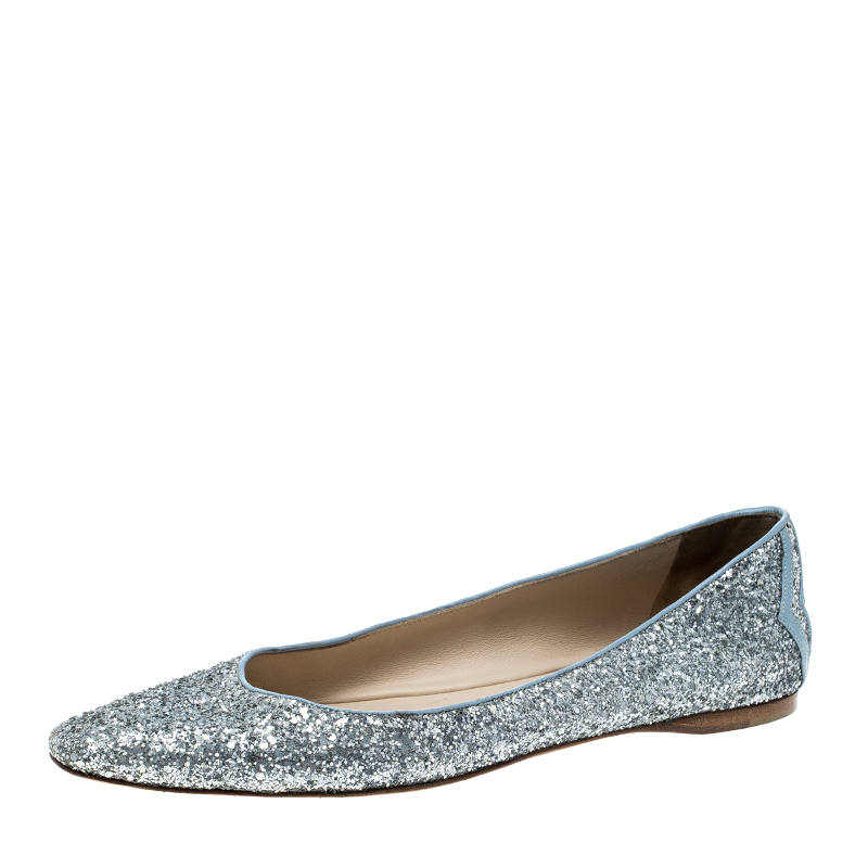 7eea748b4508 Buy Bottega Veneta Metallic Silver Glitter Intrecciato Leather Trim ...