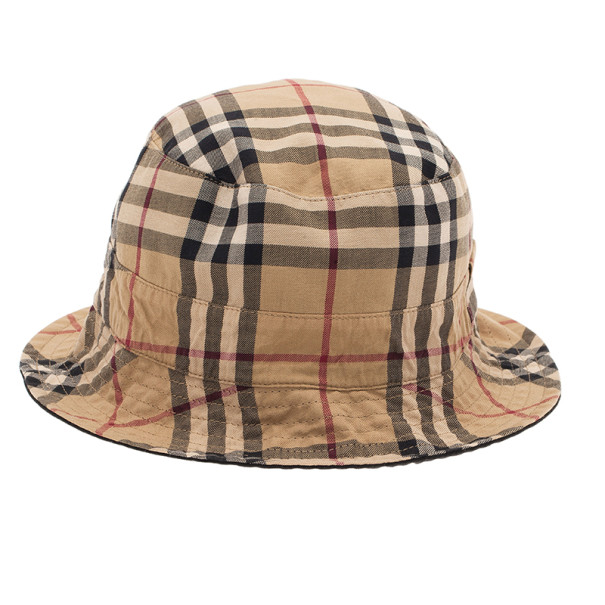 7a789b2f888 Buy Burberry Reversible Check Bucket Hat 6467 at best price