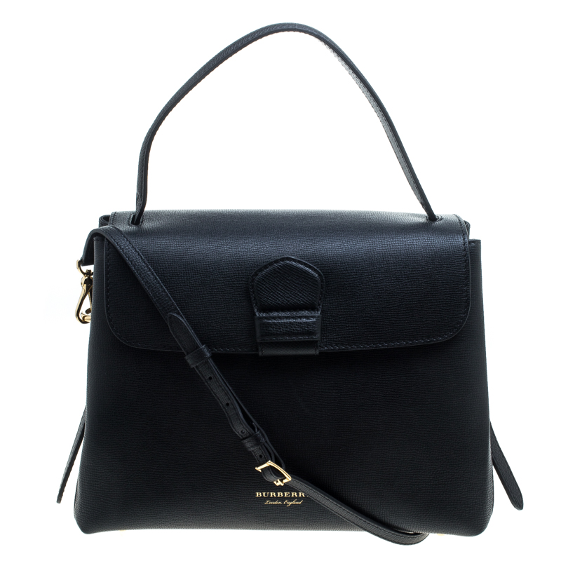 ... Burberry Black Leather and House Check Fabric Medium Camberley Top  Handle Satchel. nextprev. prevnext 76206fe10ba57