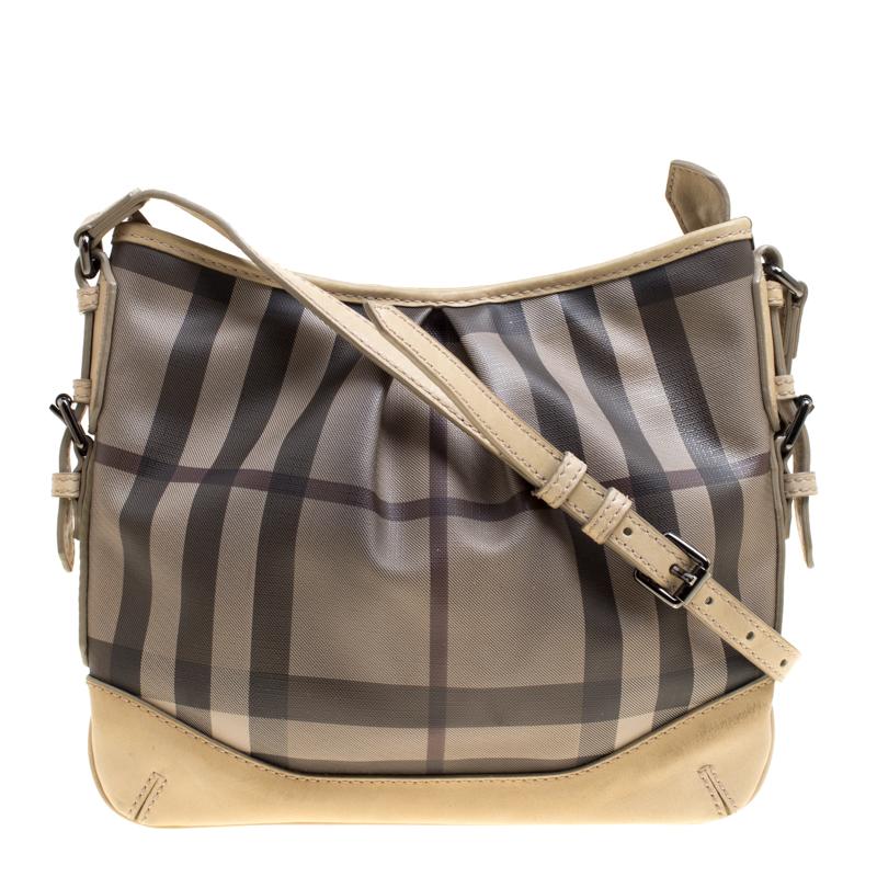 1268a241e09d ... Burberry Beige Smoke Check PVC and Leather Crossbody Bag. nextprev.  prevnext