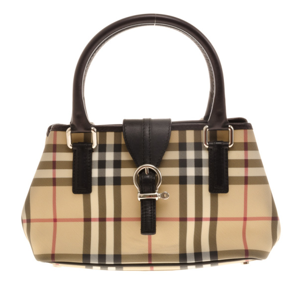 4a84f038ba52 Buy Burberry Small  Eden  Nova Check Satchel 17911 at best price