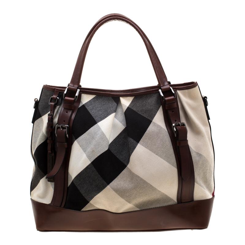 burberry canvas bag