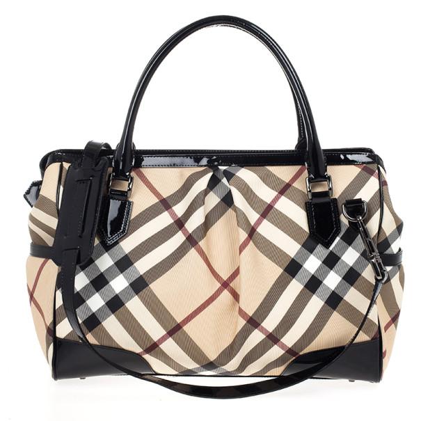 Buy Burberry Madison Nova Check Diaper Bag 20363 at best price  934685d4b373a