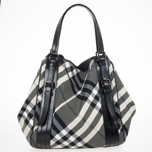 46b6dc81be Buy Burberry Beat Check Nylon Tote Bag 24610 at best price | TLC