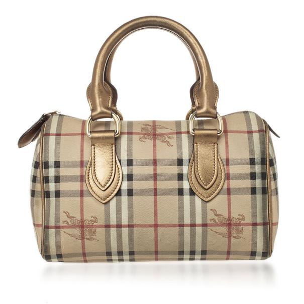 be264efd8be ... Burberry Haymarket Check Boston Satchel Handbag. nextprev. prevnext