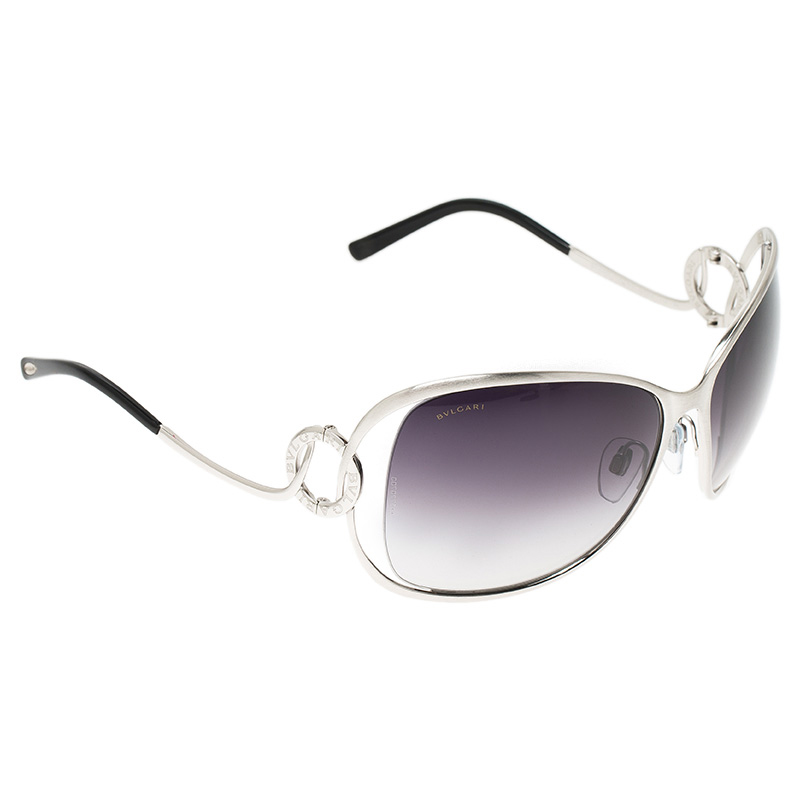 a4c60b836fd6 Buy Bvlgari Silver BV 6026 102 8G Sunglasses 53036 at best price