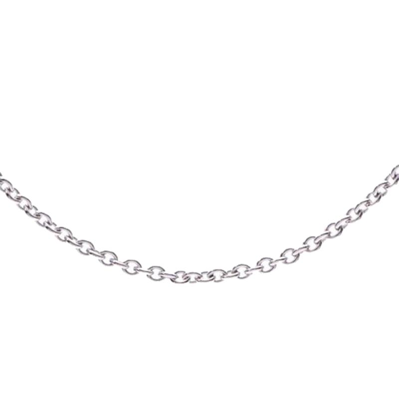 Bvlgari B-Zero 18K White Gold Chain Necklace