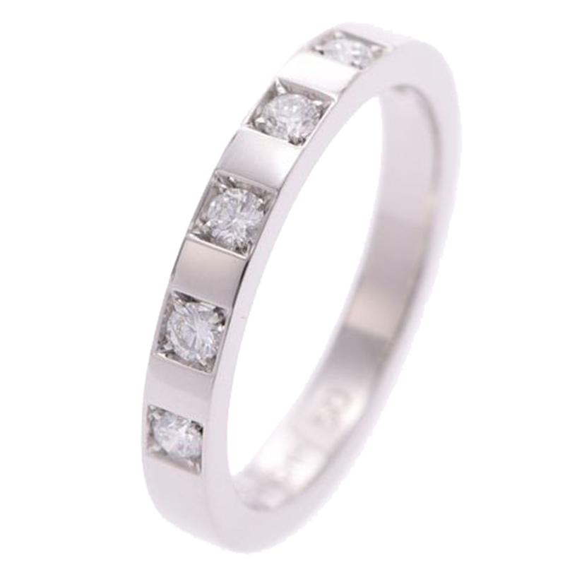 Bvlgari Marry Me Diamonds Platinum RIng Size 50