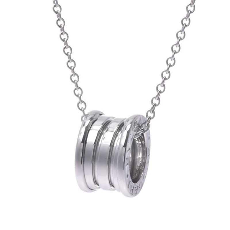 Bvlgari B.Zero 1 18K White Gold Pendant Necklace