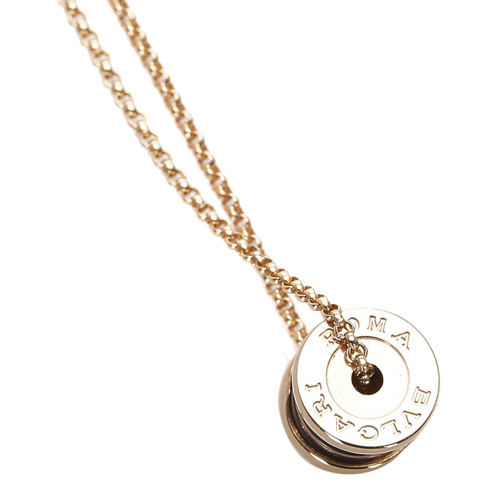 Bvlgari B.Zero 1 18K Yellow Gold Pendant Necklace