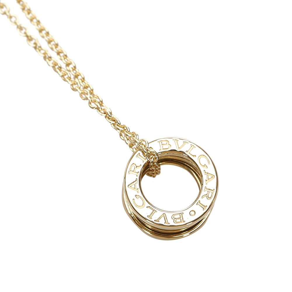 Bvlgari B.Zero1 18k Yellow Gold Pendant Necklace