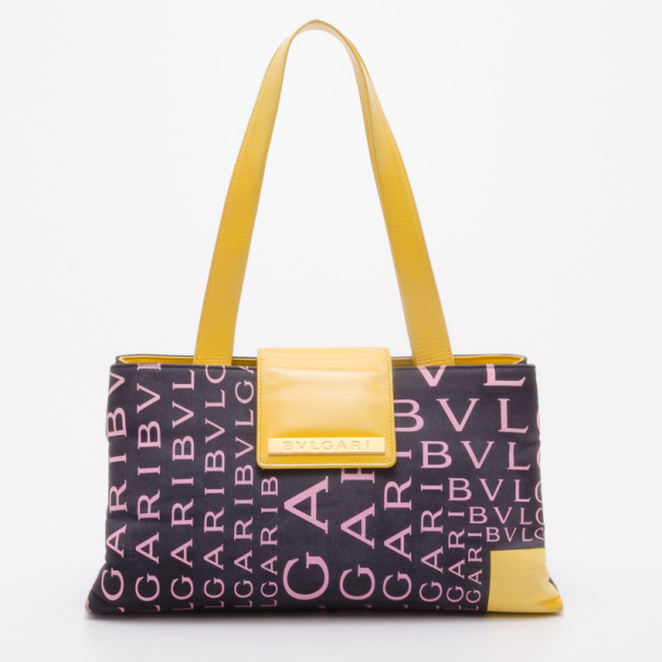 Buy Bvlgari Navy Logo Mania Small Shoulder Bag 37762 at best price  7fc48b20d2097
